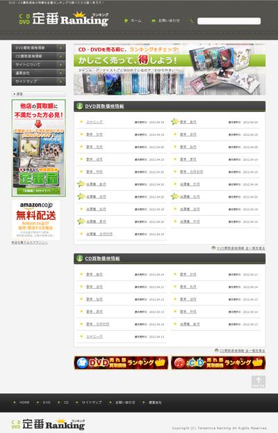 DVD・CD買取価格の相場を定番ランキングで調べてから賢く売ろう!